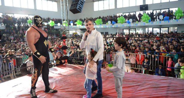 Más de mil chicos celebraron el Día del Niño en Hurlingham