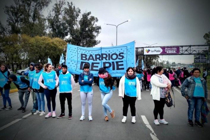 Cortaron la subida de la autopista La Plata-Buenos Aires