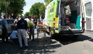 Photo of La Plata: Peatón cruzó de manera imprudente y fue atropellada por un taxista