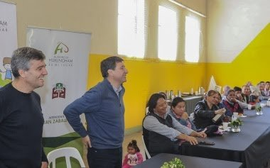 Hurlingham: Zabaleta y el diputado Arroyo se reunieron con referentes de merenderos para hablar de la situación social