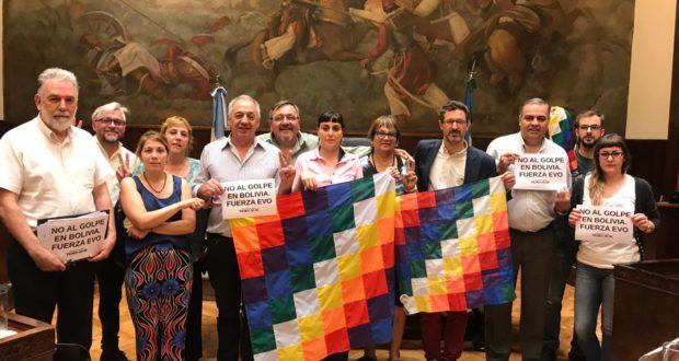 El HCD de Morón condenó el «golpe» en Bolivia: Un sólo concejal tomó distancia del proyecto reeleccionista de Evo