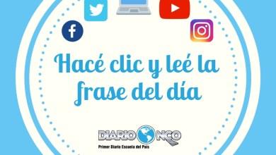 Photo of Frase del día viernes 15-11-2019