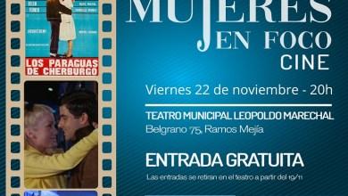 """Photo of El ciclo de cine Mujeres en Foco presenta """"Los paraguas de Cherburgo"""""""