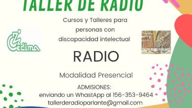 Photo of Taller de radio para jóvenes con discapacidad en San Justo