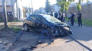 Photo of Fuerte choque en Hurlingham sobre Camargo