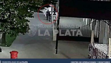 Photo of Detuvieron a tres jóvenes por vandalizar la fachada del Pasaje Dardo Rocha