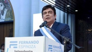 """Photo of Fernando Espinoza: """"La Matanza es como una provincia y tiene que ser tratada como tal""""."""