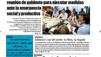 Photo of #Buen Lunes Leé la edición impresa de Diario NCO del 23-12-2019
