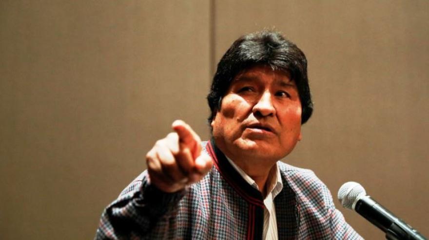 Evo Morales arribó al país, y solicitará estatus de refugiado