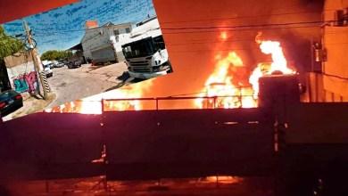 Photo of Brutal incendio sobre la colectora