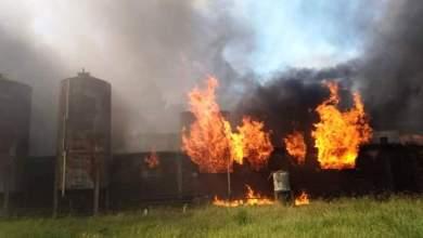 Photo of Incendio en la Cooperativa Roby