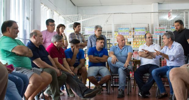 Tarjeta Alimentaria: Zabaleta se reunió con comerciantes de Hurlingham