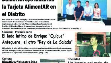 Photo of #Buen Miércoles Leé la edición impresa de Diario NCO del 22-01-2020
