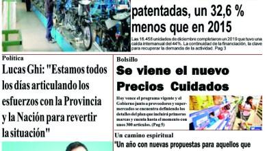 Photo of #Buen Martes Leé la edición impresa de Diario NCO del 07-01-2020