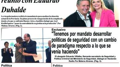 Photo of #Buen Lunes Leé la edición impresa de Diario NCO del 20-01-2020