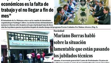 Photo of #Buen Martes Leé la edición impresa de Diario NCO del 21-01-2020