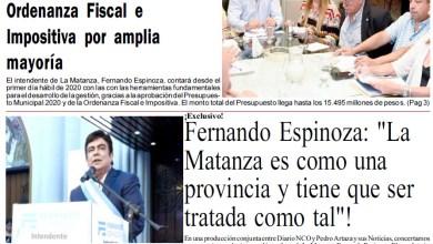 Photo of #Buen Jueves Leé la edición impresa de Diario NCO del 02-01-2020