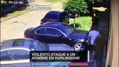 Photo of Violento ataque a culatazos a un hombre en Hurlingham