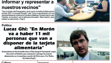 Photo of #Buen Martes Leé la edición impresa de Diario NCO del 14-01-2020