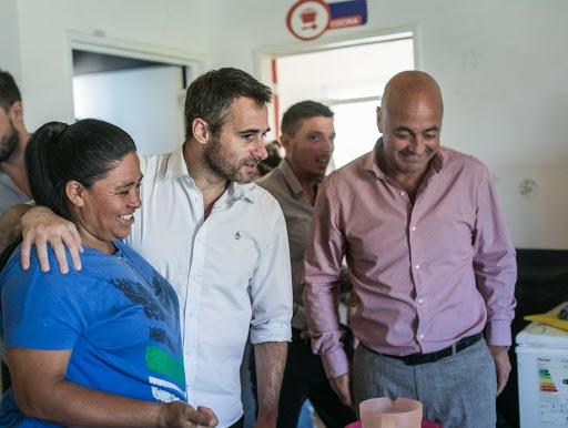 El intendente de Pilar recorrió talleres de inclusión laboral
