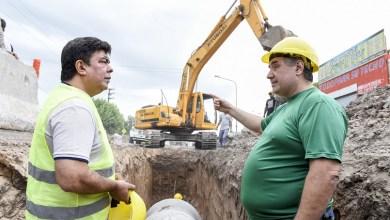 Photo of Fernando Espinoza supervisó las obras del Mega Plan Hidráulico 20-21 en Rafael Castillo