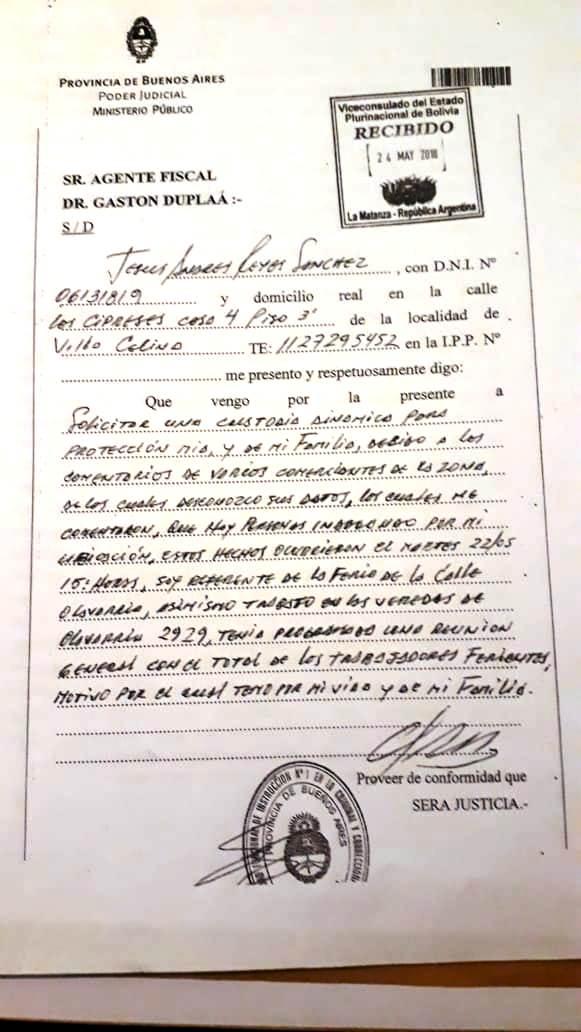 Denuncian corrupción en la feria de Villa Celina