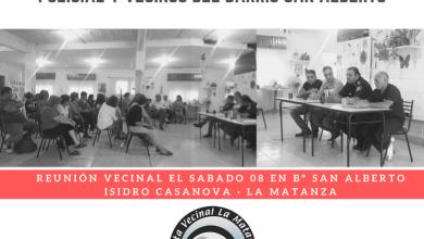 Photo of Seguridad: un resumen de los temas abordados en la Junta Vecinal