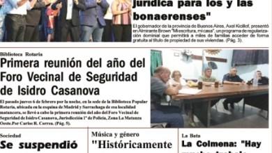 Photo of #Buen Viernes Leé la edición impresa de Diario NCO del 14-02-2020