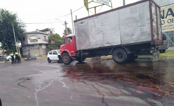 Frigorífico derramó 500 mil litros de sangre por las calles de Morón