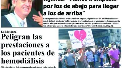 Photo of #Buen Martes Leé la edición impresa de Diario NCO del 03-03-2020
