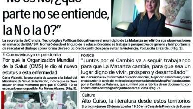 Photo of #Buen Viernes Leé la edición impresa de Diario NCO del 13-03-2020
