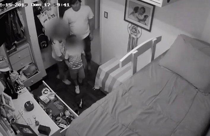 El hombre que fue filmado mientras abusaba de su sobrina de 12 años puso una insólita condición para entregarse