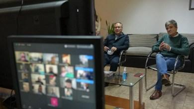 Photo of Diálogo con trabajadores de la comunicación