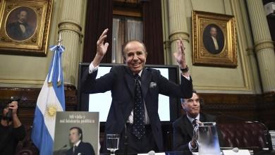 Photo of La salud de Carlos Saúl Menem en mejoría