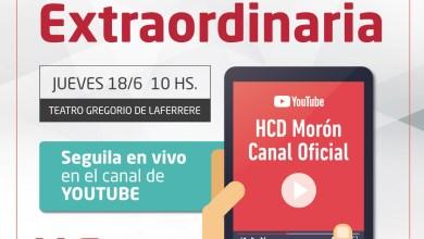 Photo of Sesión Extraordinaria en el  HCD Morón