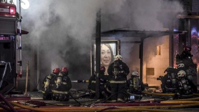 Photo of Feroz incendio en un edificio del barrio de Villa Crespo