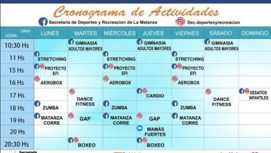 Photo of Secretaría de Deportes: cronograma de actividades gratuitas en redes sociales