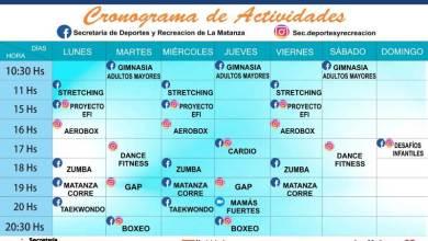 Photo of Actividades de la Secretaría de Deportes