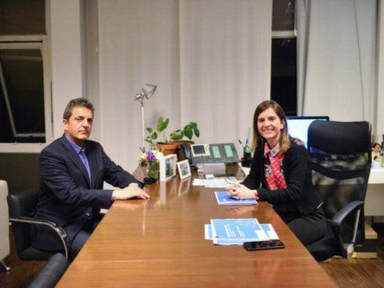 Massa y Raverta analizaron el Presupuesto 2021 y otros proyectos de ley en relación a la ANSES
