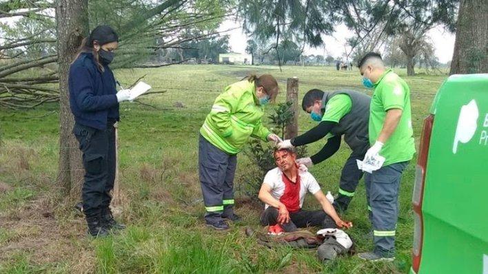 La Plata: un grupo de vecinos atrapó y golpeó a un policía y a un ex comisario que intentaban robar una oveja