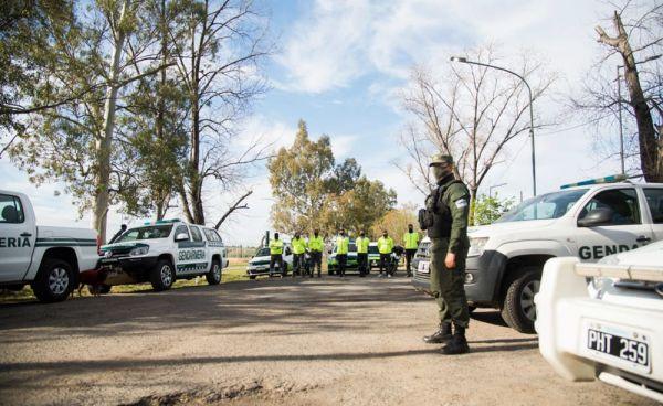 Despliegue de fuerzas federales en Hurlingham e Ituzaingó