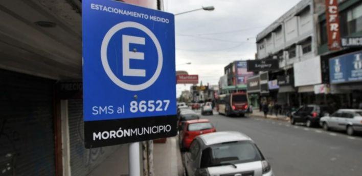 Vuelve a regir el estacionamiento medido en Morón
