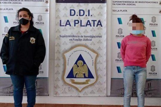 Por el doble crimen en La Plata hay una joven detenida