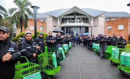 Hurlingham ya tiene su Dirección de Reciclado de Residuos