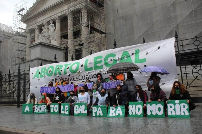 """#EsUrgente: """"Educación sexual para decidir, Anticonceptivos para no abortar y Aborto legal para no morir"""""""