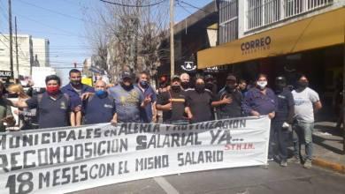 Photo of San justo: sigue la rebelión de los trabajadores municipales