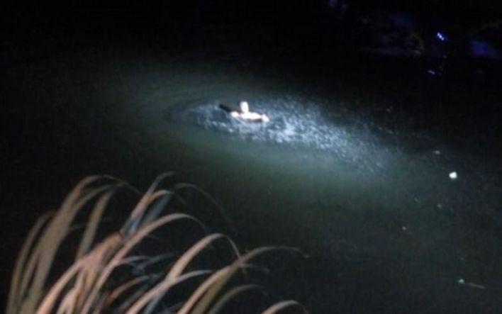 Fue desde Ensenada a robar a Berisso y al ser descubierto se tiró a las aguas de un canal
