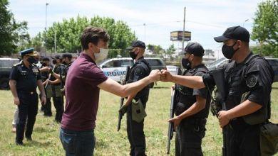 Photo of Lucas Ghi recorrió las nuevas instalaciones para efectivos de la Policía Federal