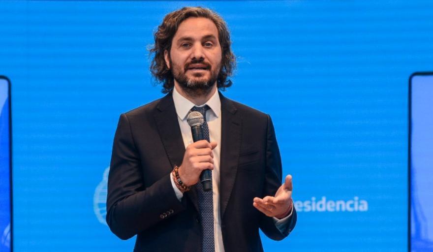 Santiago Cafiero: «El punto de partida de este Gobierno es un Estado fundido por el Gobierno anterior»