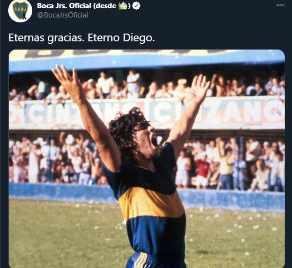 El futbol de luto: Murió Diego Armando Maradona